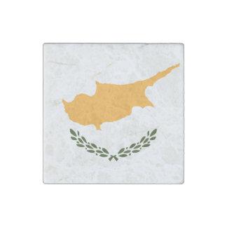Patriotic Cyprus Flag Stone Magnet