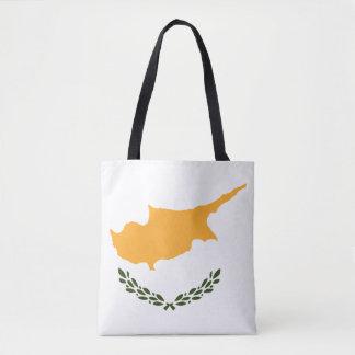 Patriotic Cyprus Flag Tote Bag