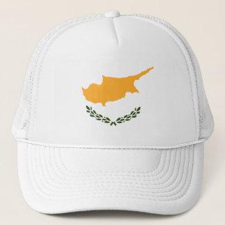 Patriotic Cyprus Flag Trucker Hat
