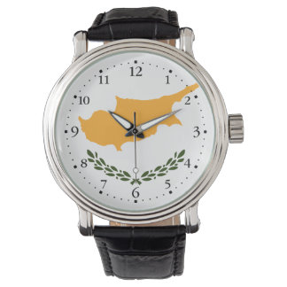 Patriotic Cyprus Flag Watch