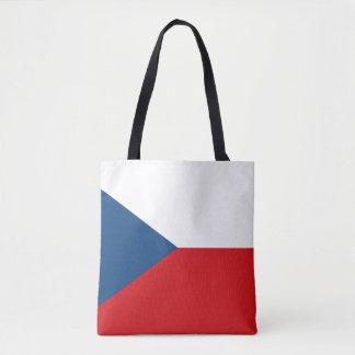 Patriotic Czech Republic Flag Tote Bag