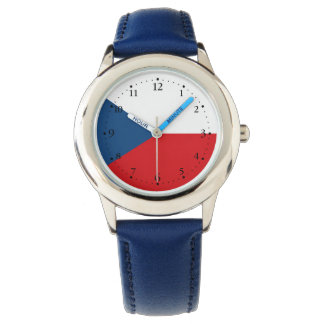 Patriotic Czech Republic Flag Watch