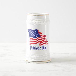 Patriotic Dad Beer Stein