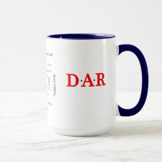 Patriotic DAR Mug