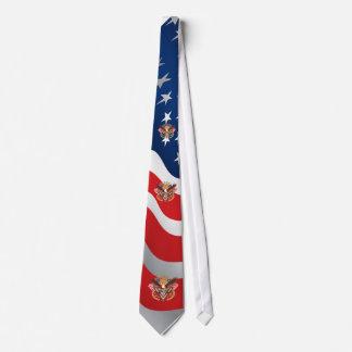 Patriotic Design is correct template is off Tie