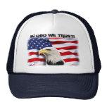 Patriotic EAGLE & FLAG Cap
