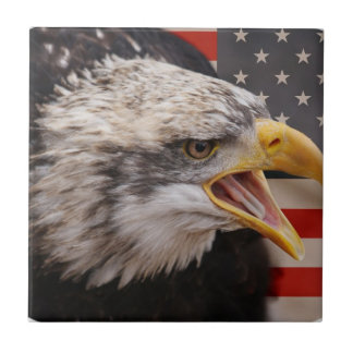 Patriotic Eagle Image Tile