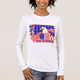 PATRIOTIC EAGLE - MADE IN AMERICA LONG SLEEVE T-Shirt