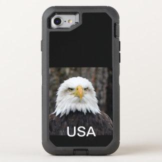 Patriotic eagle OtterBox defender iPhone 8/7 case
