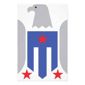 Patriotic Eagle Stationery