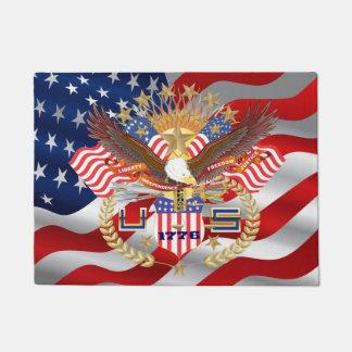 Patriotic Election View About Design Doormat
