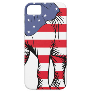 Patriotic Elephant Barely There iPhone 5 Case