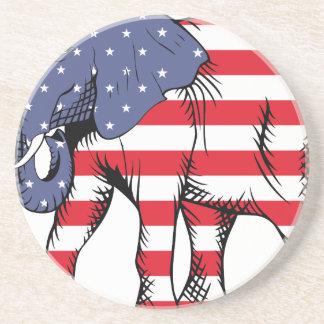 Patriotic Elephant Coaster
