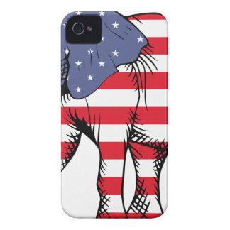 Patriotic Elephant iPhone 4 Case-Mate Case