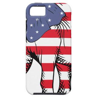 Patriotic Elephant iPhone 5 Case