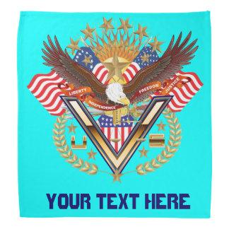 Patriotic Family or Veteran View About Design Bandannas