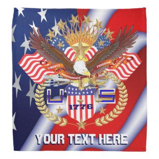 Patriotic Family or Veteran View About Design Head Kerchief