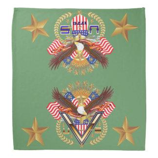 Patriotic Family or Veteran View About Design Kerchief