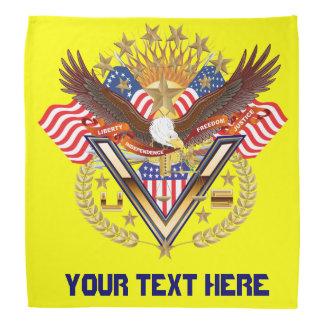 Patriotic Family or Veteran View About Design Bandanna