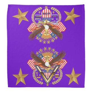 Patriotic Family or Veteran View About Design Do-rag