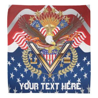 Patriotic Family-Veteran Bandana Full