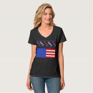 Patriotic Fashion American Flag Tshirts USA