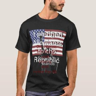 Patriotic Fashion USA American Flag America T-Shirt