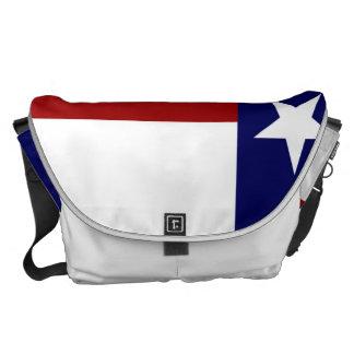 Patriotic Fashionable Texas Flag Messenger Bag