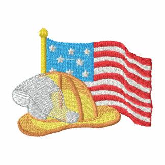 Patriotic Firefighter