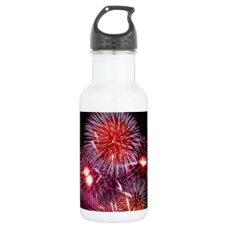 Patriotic Fireworks from the 4th of July 532 Ml Water Bottle