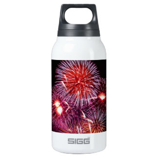 Patriotic Fireworks from the 4th of July Insulated Water Bottle