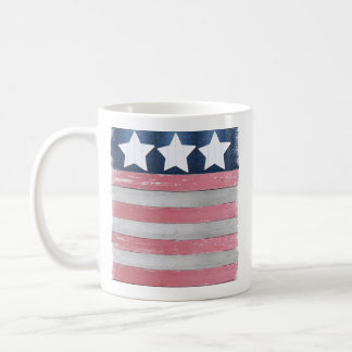 Patriotic Flag Design Coffee Mug