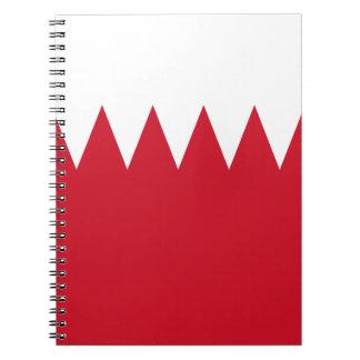 Patriotic Flag of Bahrain Notebooks