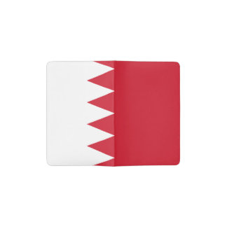 Patriotic Flag of Bahrain Pocket Moleskine Notebook