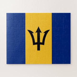 Patriotic Flag of Barbados Jigsaw Puzzle