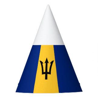 Patriotic Flag of Barbados Party Hat