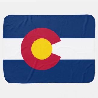 Patriotic Flag of Colorado Baby Blanket