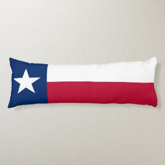 Patriotic Flag of Texas Body Pillow