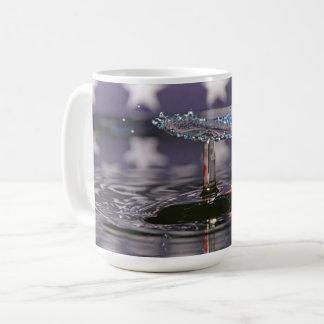 Patriotic Flag Water Drop Coffee Mug