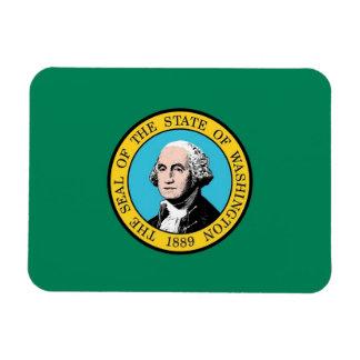 Patriotic flexible magnet, Washington State  flag Magnet