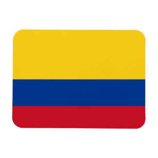 Patriotic flexible magnet with flag of Colombia