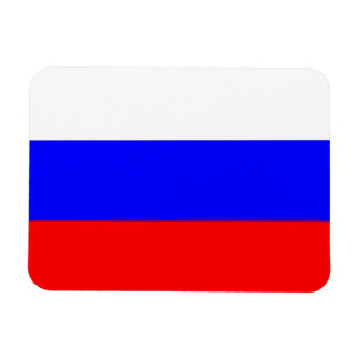 Patriotic flexible magnet with flag of Russia