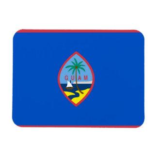 Patriotic flexible magnet with Guam flag