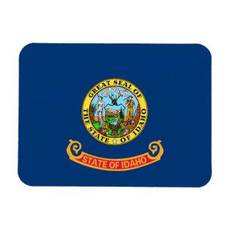 Patriotic flexible magnet with Idaho flag