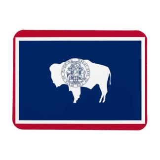 Patriotic flexible magnet, Wyoming State  flag Magnet