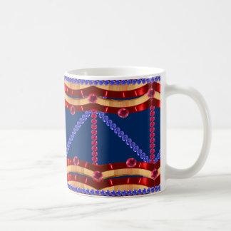 Patriotic Fourth of July 4th Party CricketDiane Coffee Mug