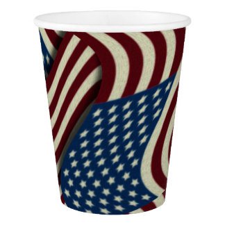 Patriotic Fourth Of July American Flags Pattern