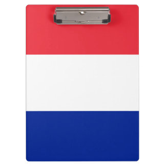 Patriotic French Flag Clipboard