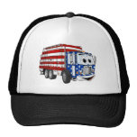 Patriotic Garbage Truck Cartoon Hats