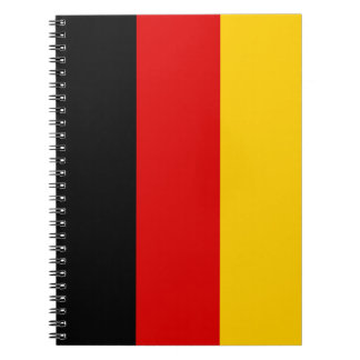 Patriotic German Flag Notebooks